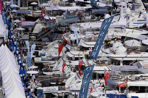 Шоу яхт в Монако (10 фото)