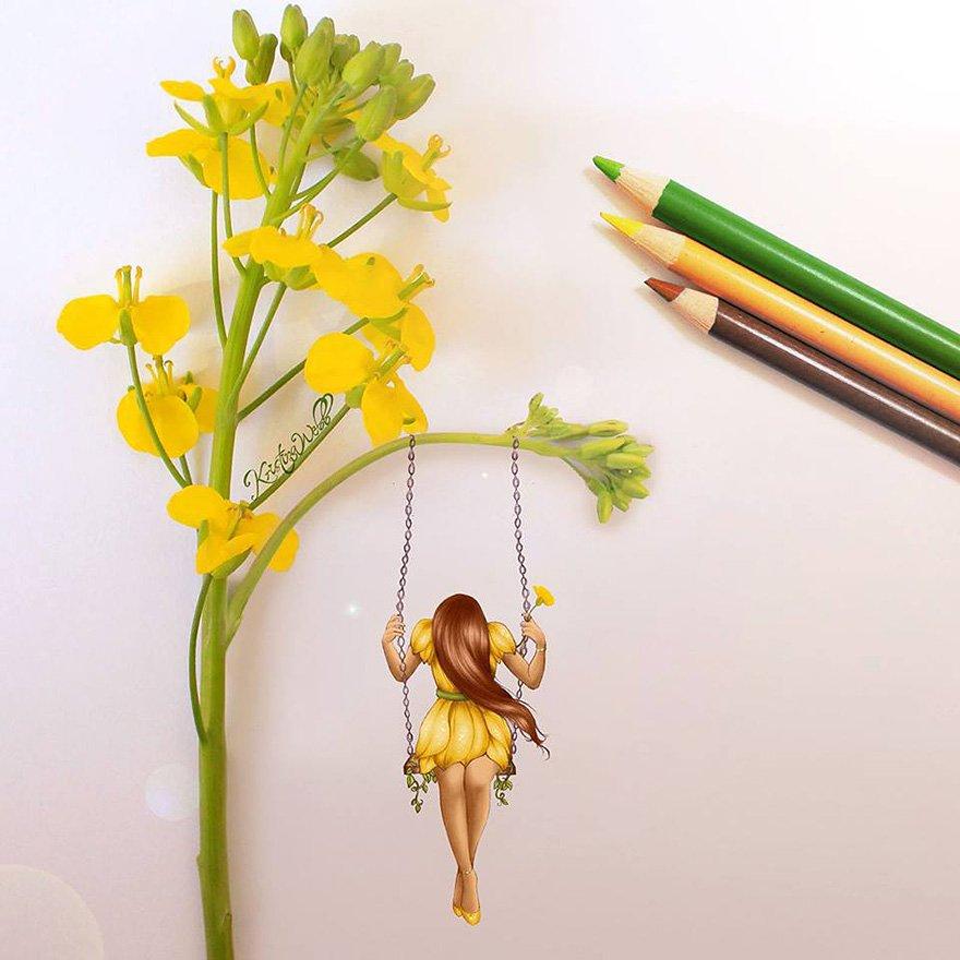 Креативные иллюстрации Кристины Уэбб (8 фото)