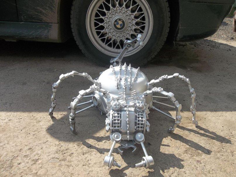 изделий богемского роботы из автозапчастей фото многие другие сорта
