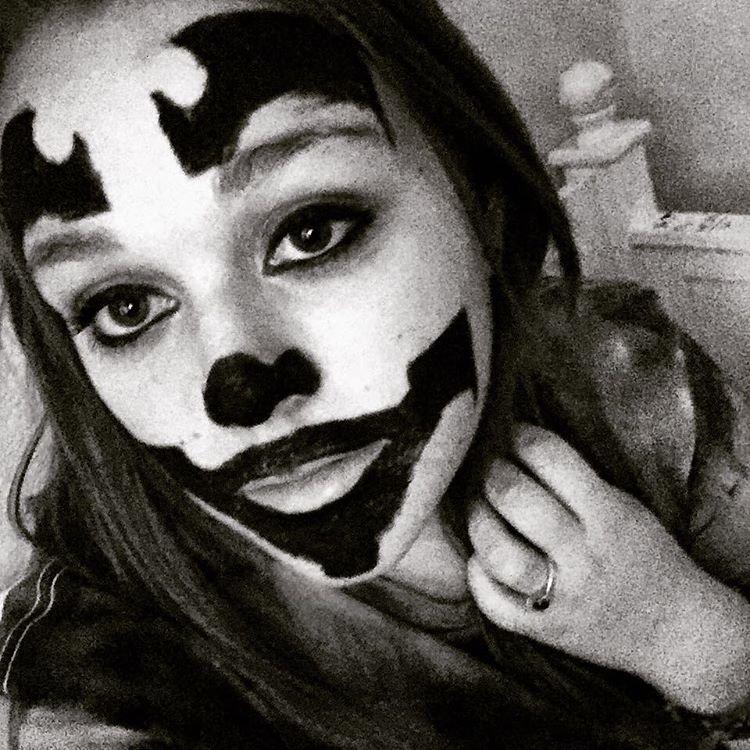 хэллоуин кошка макияж