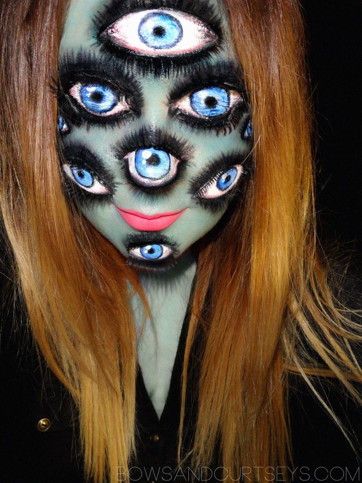Макияж для хэллоуина в домашних условиях фото