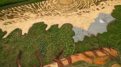 Ландшафтное искусство Стэна Херда (8 фото)