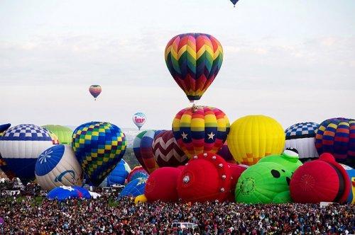 Международный фестиваль воздушных шаров Albuquerque International Balloon Fiesta-2015 (10 фото)