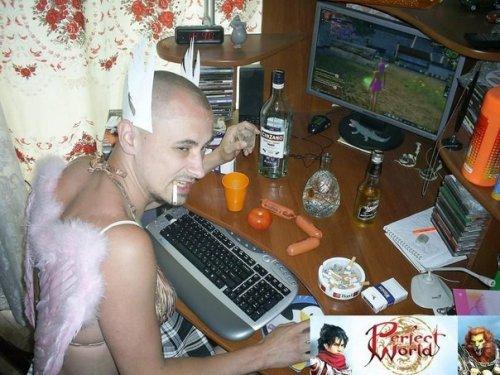 Чудаки и чудачки из социальных сетей (16 фото)