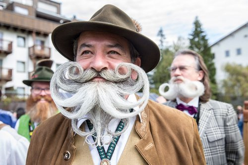 Участники Всемирного чемпионата среди усачей и бородачей (16 фото)
