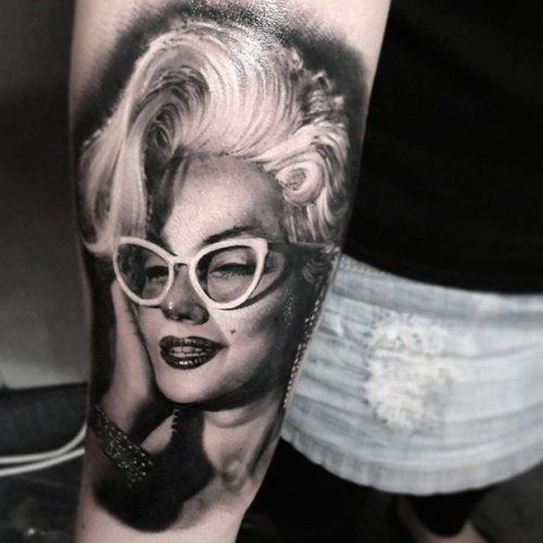 Невероятно реалистичные татуировки от Мэтта Джордана (25 фото)