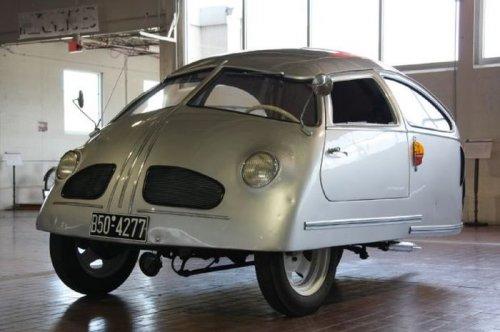 Hoffmann 1951: Автомобиль, претендующий на звание худшего автомобиля в мире (4 фото + видео)