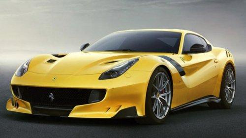 Спорткар Ferrari F12 TDF, посвящённый гонке Tour de France (7 фото)