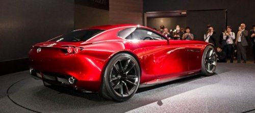 Концепт-кар Mazda RX Vision (11 фото)