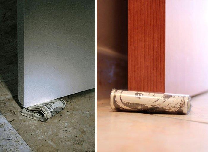 Как сделать ограничители для двери своими руками 16