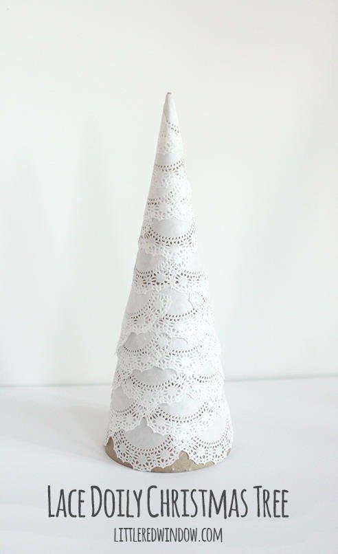 Новогодняя ёлка из подручных материалов своими руками