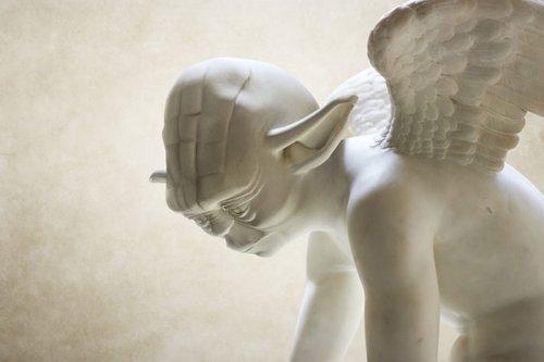 """Персонажи из """"Звёздных войн"""" в виде греческих скульптур (5 фото)"""