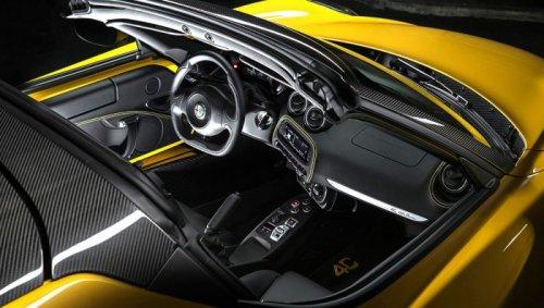 Мощная новинка Alfa Romeo 4C Spider (7 фото)