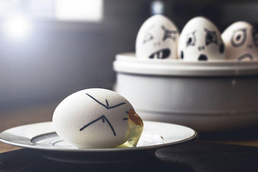 Татарча, прикольный рисунок яйца