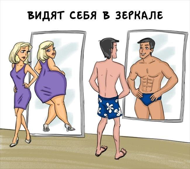 Иллюстрации с сексом мужчин и женщин