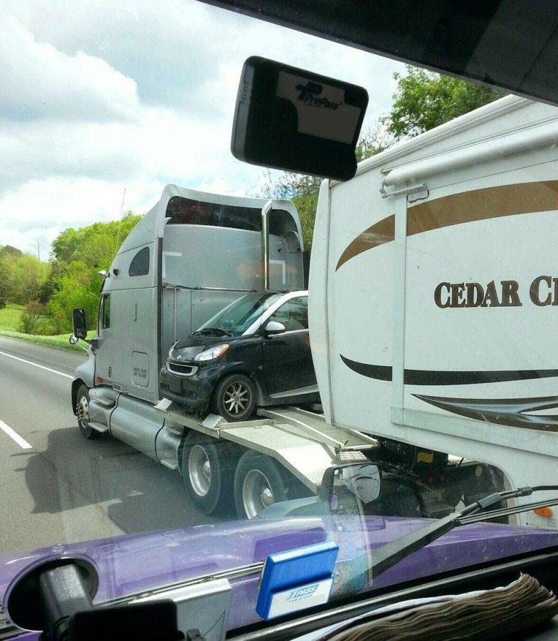 фотоприколы на грузовиках него