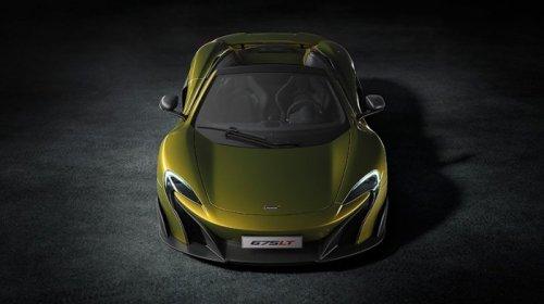 Суперкар McLaren 675LT Spider мощностью 675 л.с. (8 фото)