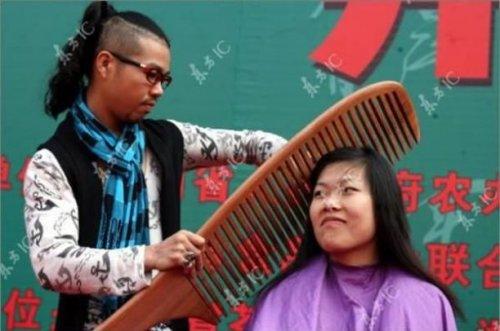 Топ 10: Очень необычные парикмахеры