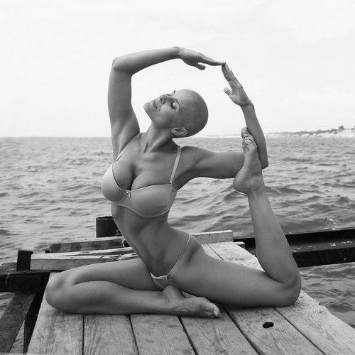 Звезда Instagram Марина Вовченко: когда йога бывает соблазнительной (11 фото)