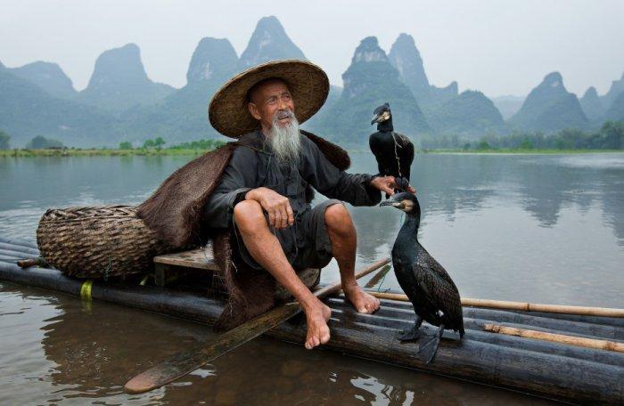 способы рыбалки в китае
