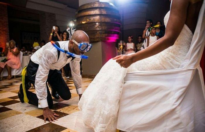 Конкурс на свадьбу необычный