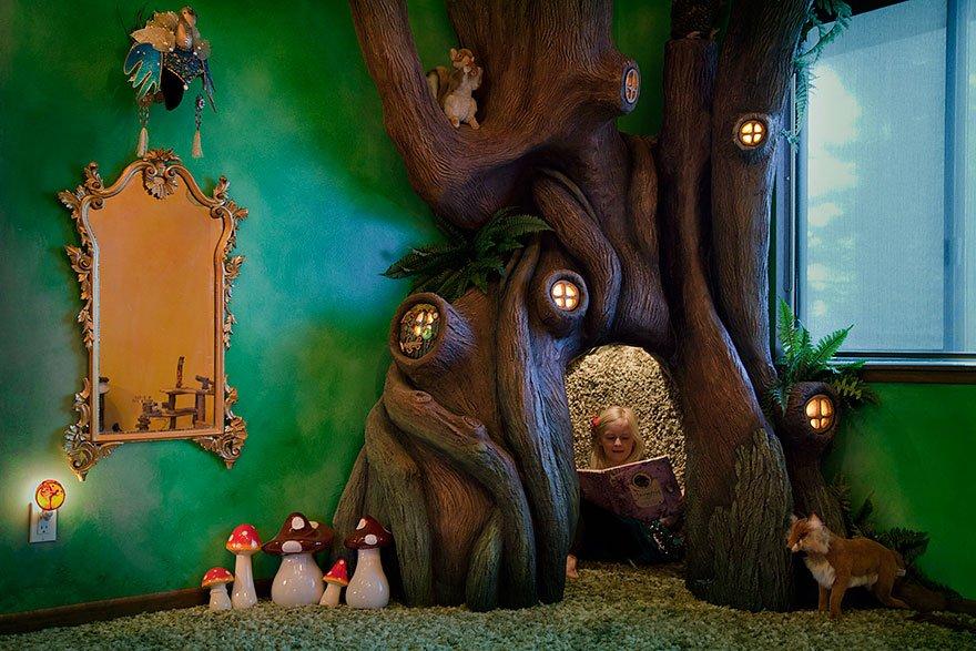 Деревья в комнате своими руками