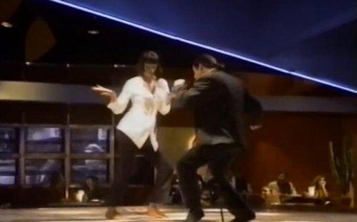 "За кулисами ""Криминального чтива"": танец Квентина Тарантино"