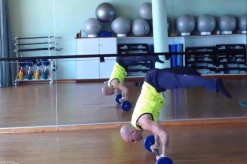 Потрясающие люди и их способности: фитнес