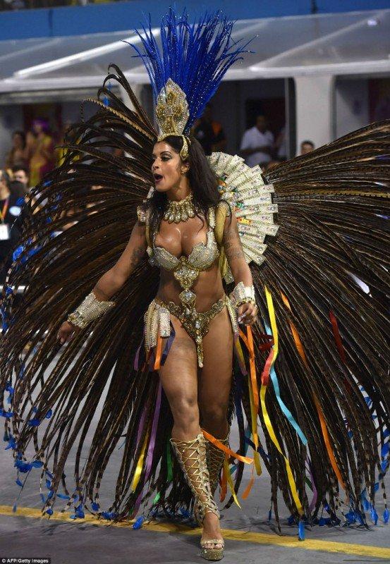 Бразильские девушки карнавал
