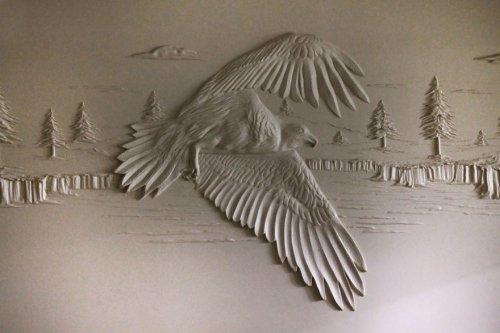 Потрясающие объёмные настенные рисунки Берни Митчелла (8 фото)