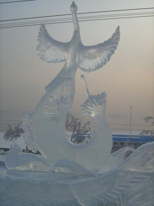 Волшебный лёд Сибири...