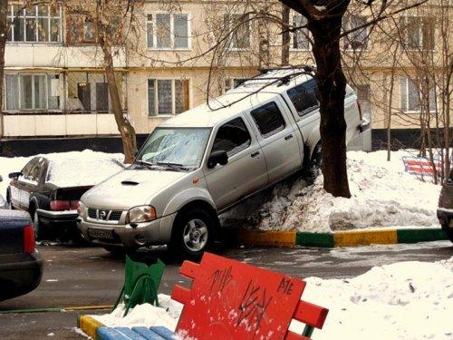 Гении парковки (15 фото)