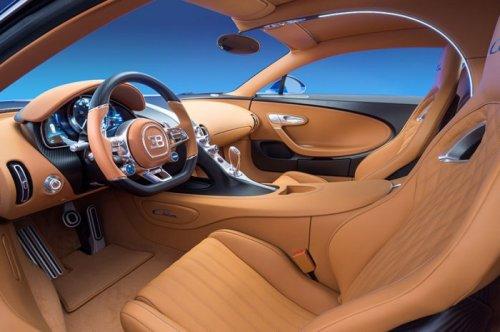 Мировая премьера гиперкара Bugatti Chiron на автошоу Geneva Motor Show 2016 (7 фото)