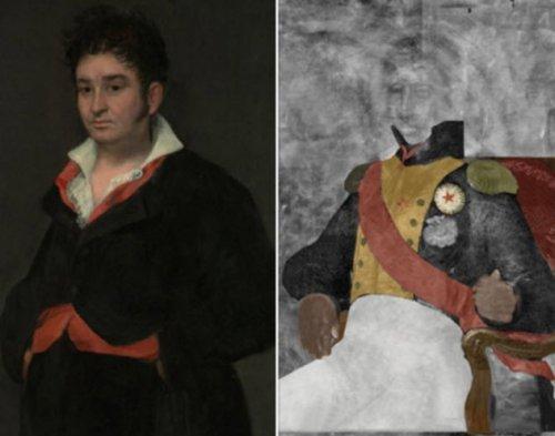 Топ-10: Спрятанные изображения, обнаруженные на известных картинах