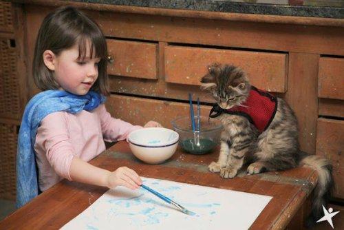 Топ-9: Невероятные узы дружбы между людьми и животными