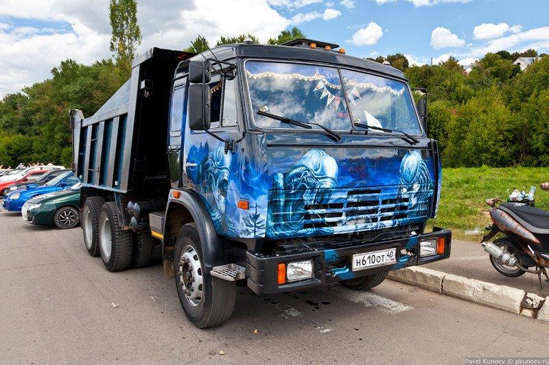 фото русских машин тюнинг камаз фотографии, приведенные