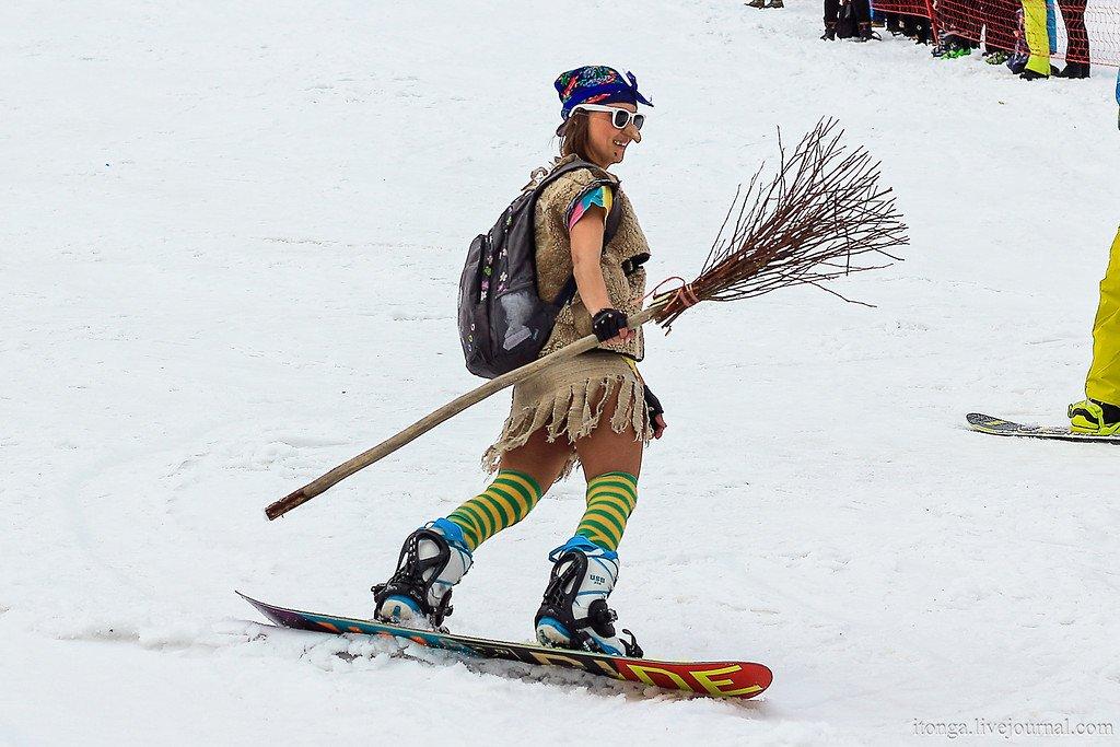 Лыжницы картинки смешные, днем