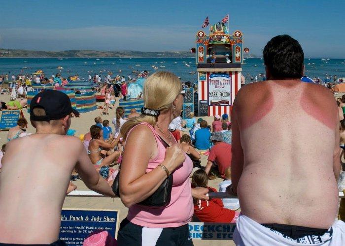 Смешная картинка с пляжа, поло седан прикольные