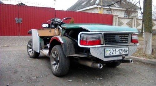 Самодельные транспортные средства автоэнтузиастов (13 фото)