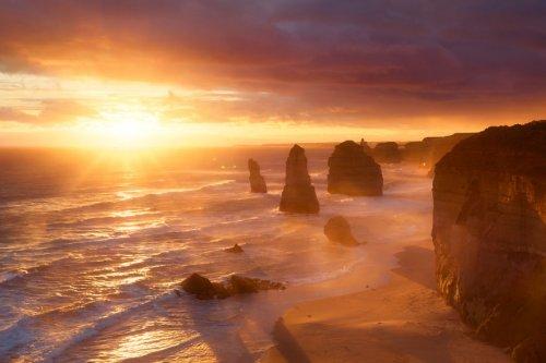 Красота нашей планеты в лучах солнца (20 фото)