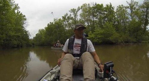 Рыбалка с неожиданным уловом