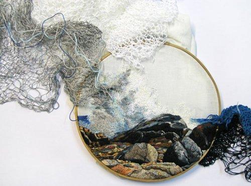 Яркие примеры креативной вышивки (33 фото)