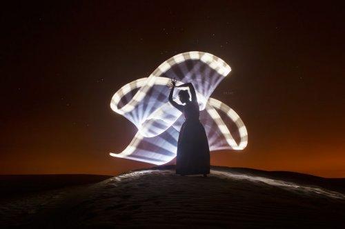Потрясающая светографика Эрика Паре (23 фото + видео)