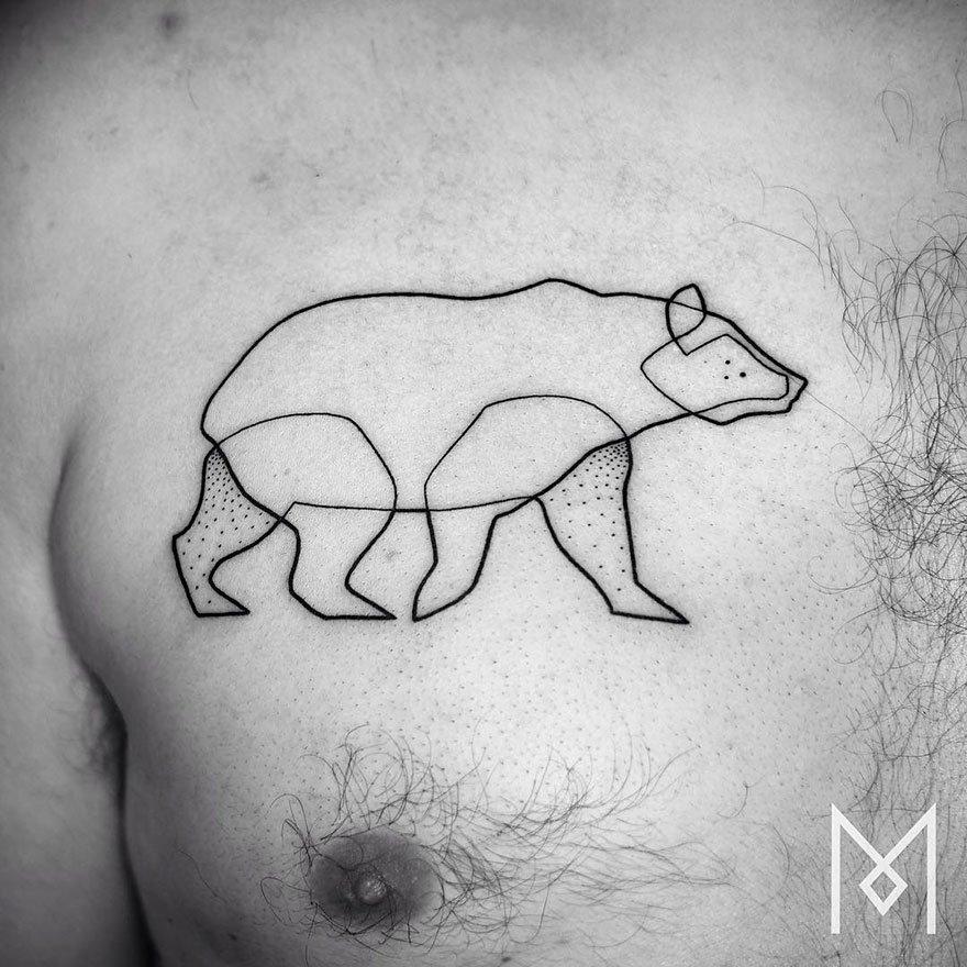 Рисовать татуировки для фото