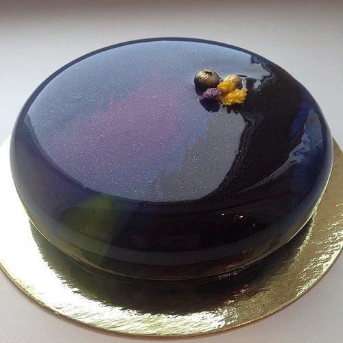 торт глазурью фото