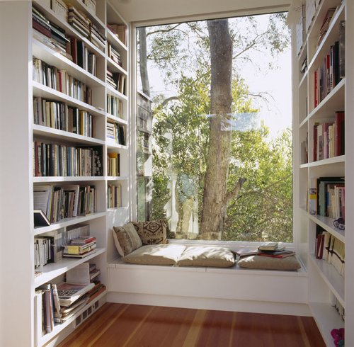 Уютные уголки для книголюбов (20 фото)