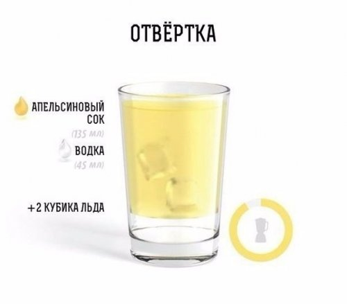 Рецепты алкогольных коктейлей в иллюстрациях (11 фото)