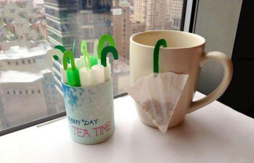 Креативные чайные пакетики (32 фото)