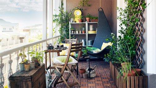 Уютные идеи для балконов (31 фото)