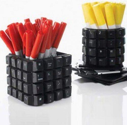 Креативное использование старой клавиатуры (10 фото)